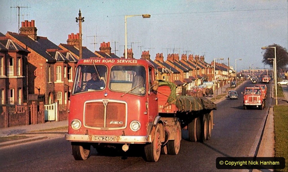 BRS vehicles 1950s and 1960s. (67) 067