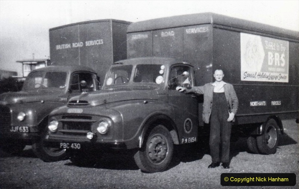 BRS vehicles 1950s and 1960s. (72) 072