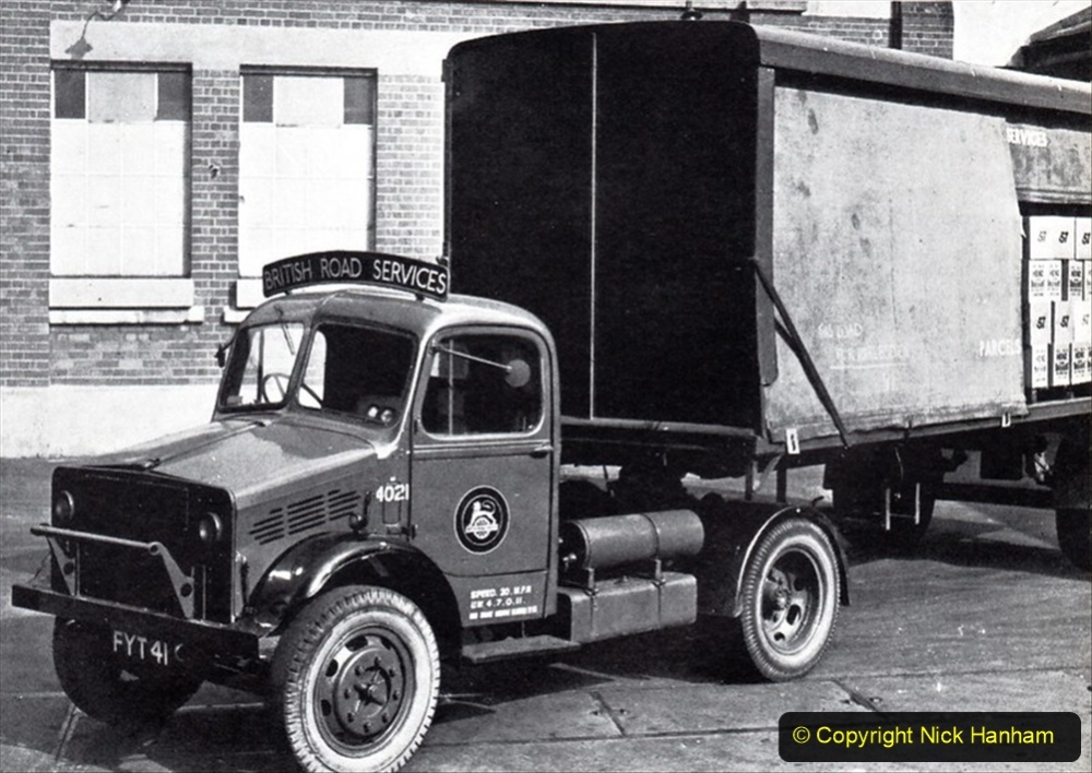 BRS vehicles 1950s and 1960s. (73) 073