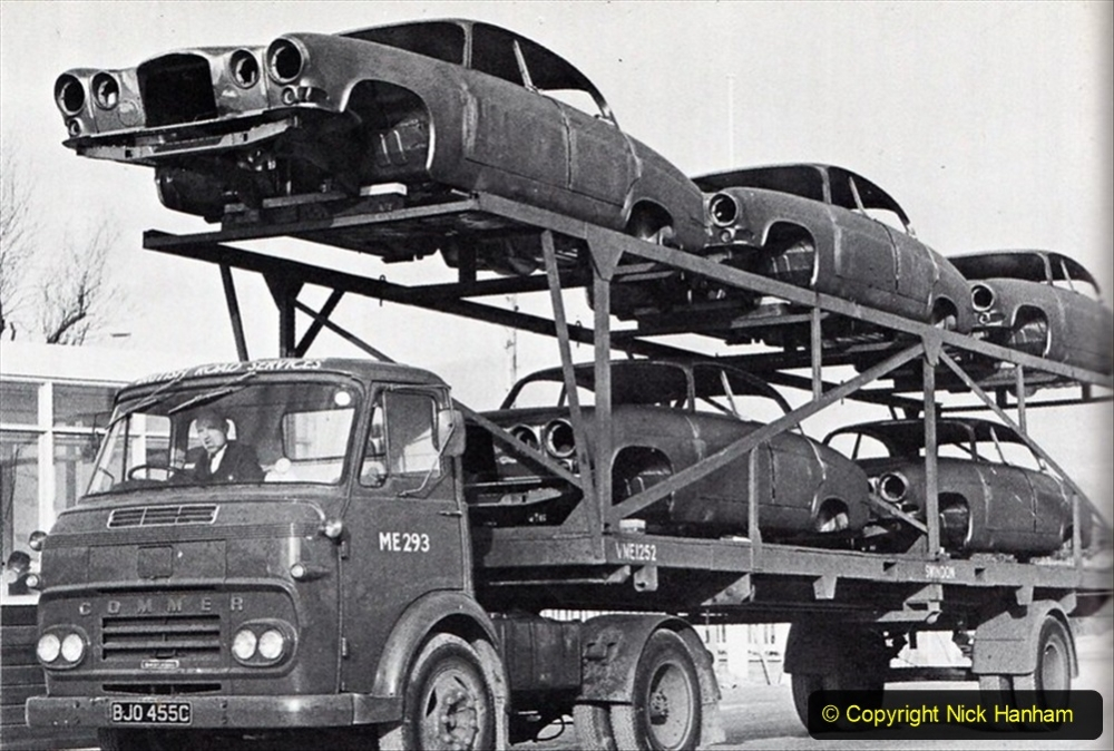 BRS vehicles 1950s and 1960s. (78) 078
