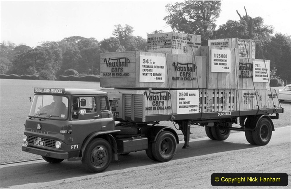 BRS vehicles 1950s and 1960s. (83) 083