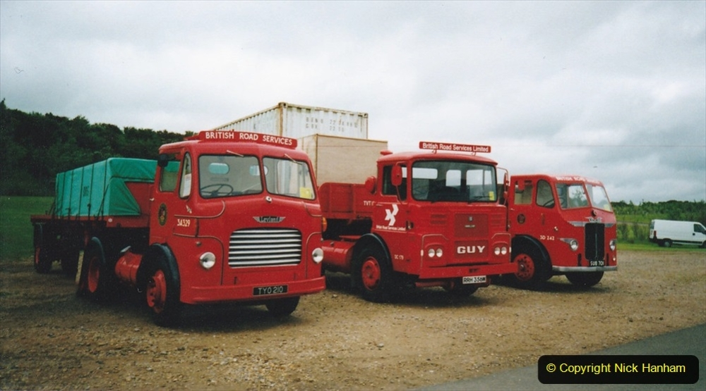 BRS vehicles 1950s and 1960s. (102) 102