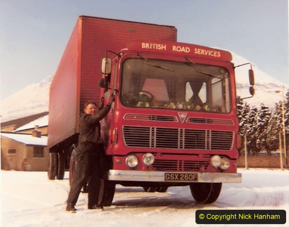 BRS vehicles 1950s and 1960s. (135) 135