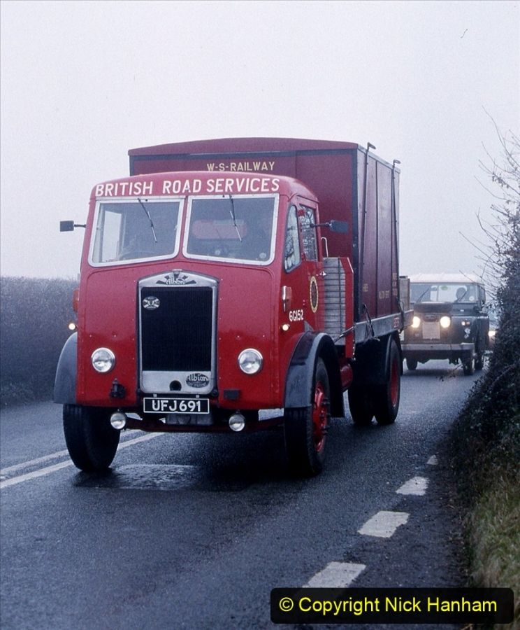 BRS vehicles 1950s and 1960s. (137) 137