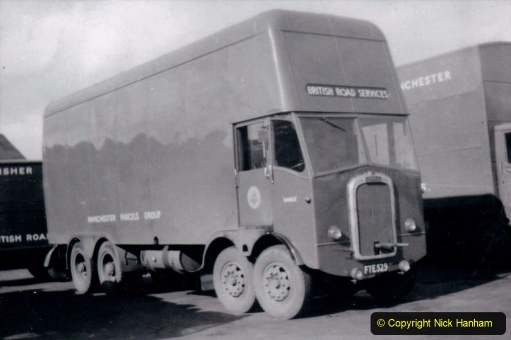 BRS vehicles 1950s and 1960s. (143) 143