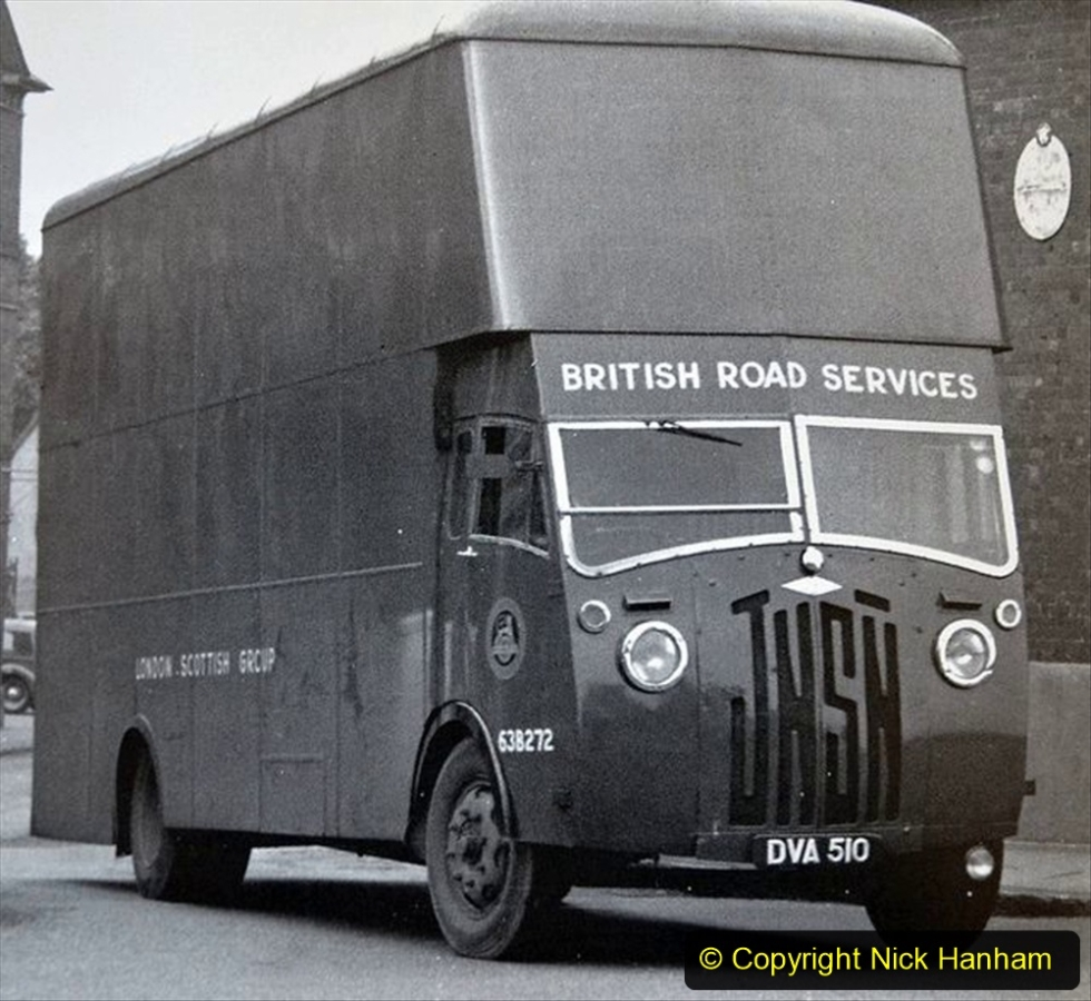 BRS vehicles 1950s and 1960s. (148) 148
