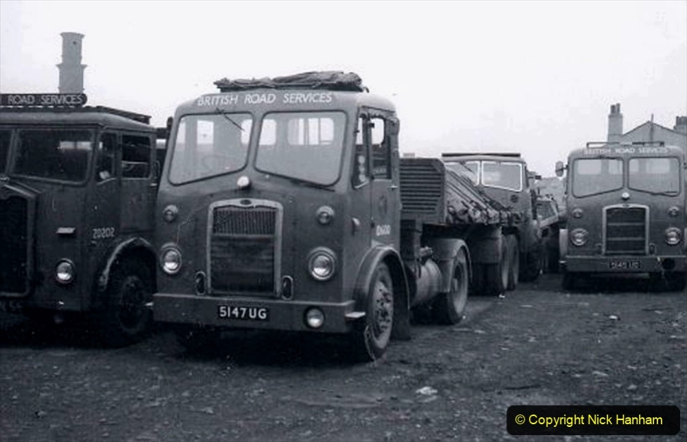 BRS vehicles 1950s and 1960s. (153) 153