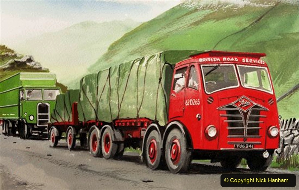 BRS vehicles 1950s and 1960s. (155) 155