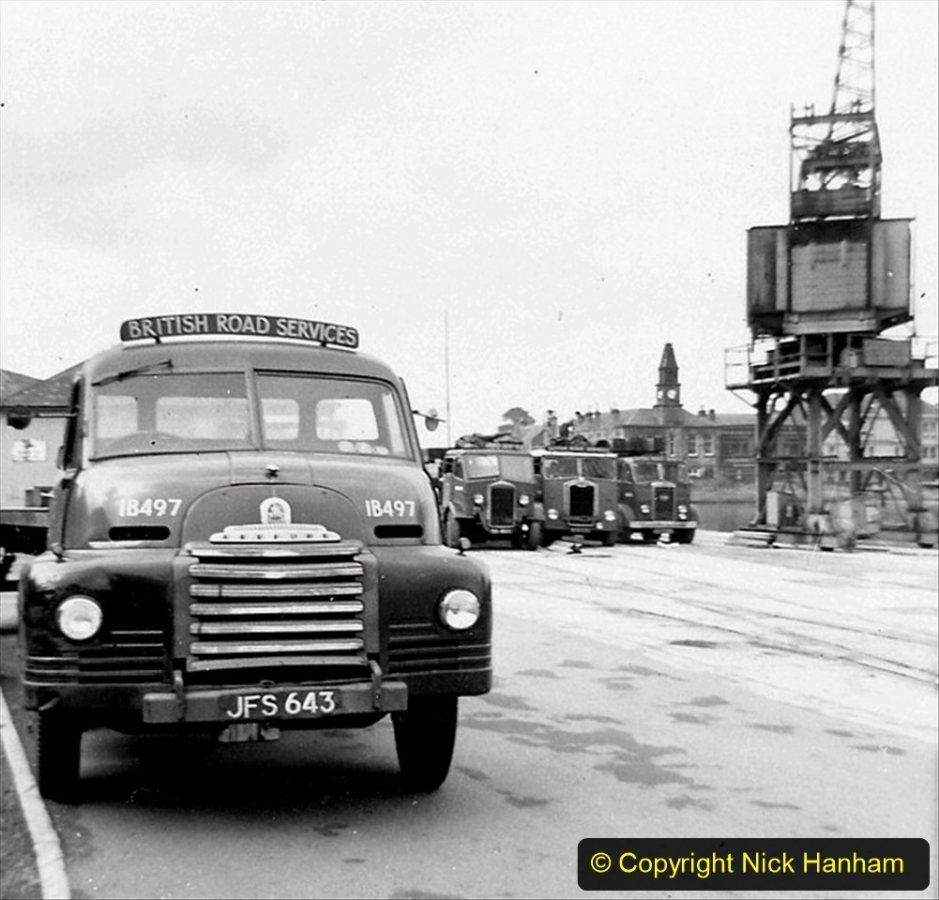 BRS vehicles 1950s and 1960s. (159) 159