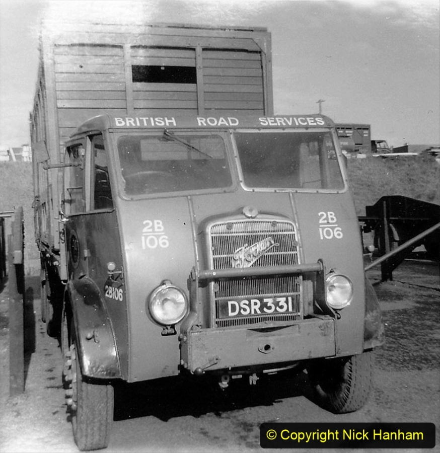 BRS vehicles 1950s and 1960s. (162) 162