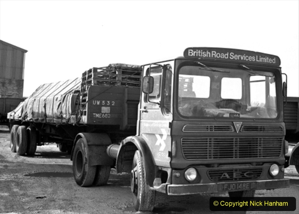 BRS vehicles 1950s and 1960s. (172) 172