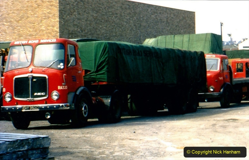 BRS vehicles 1950s and 1960s. (174) 174