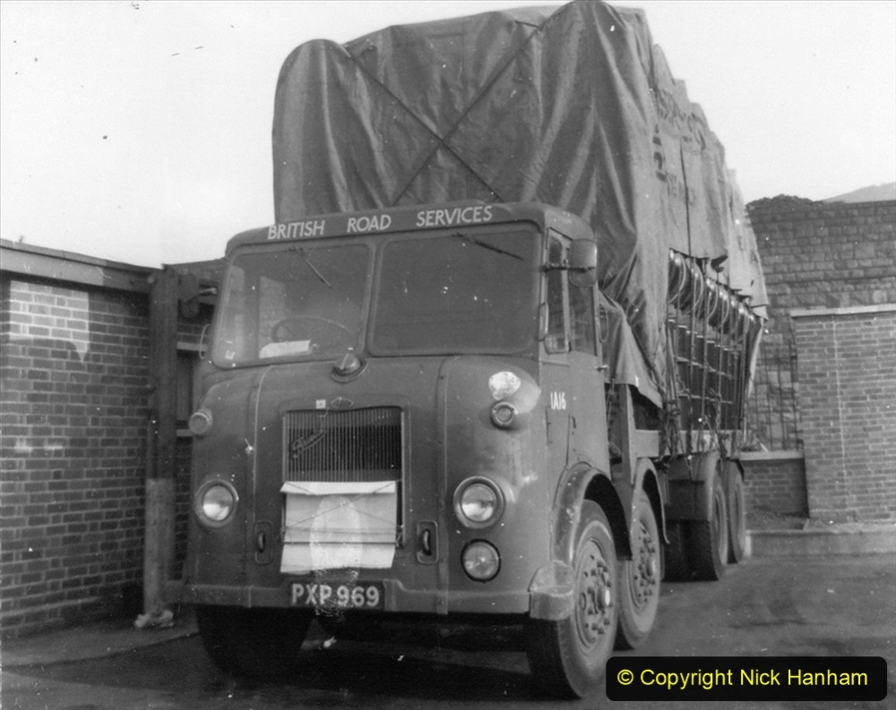BRS vehicles 1950s and 1960s. (186) 186