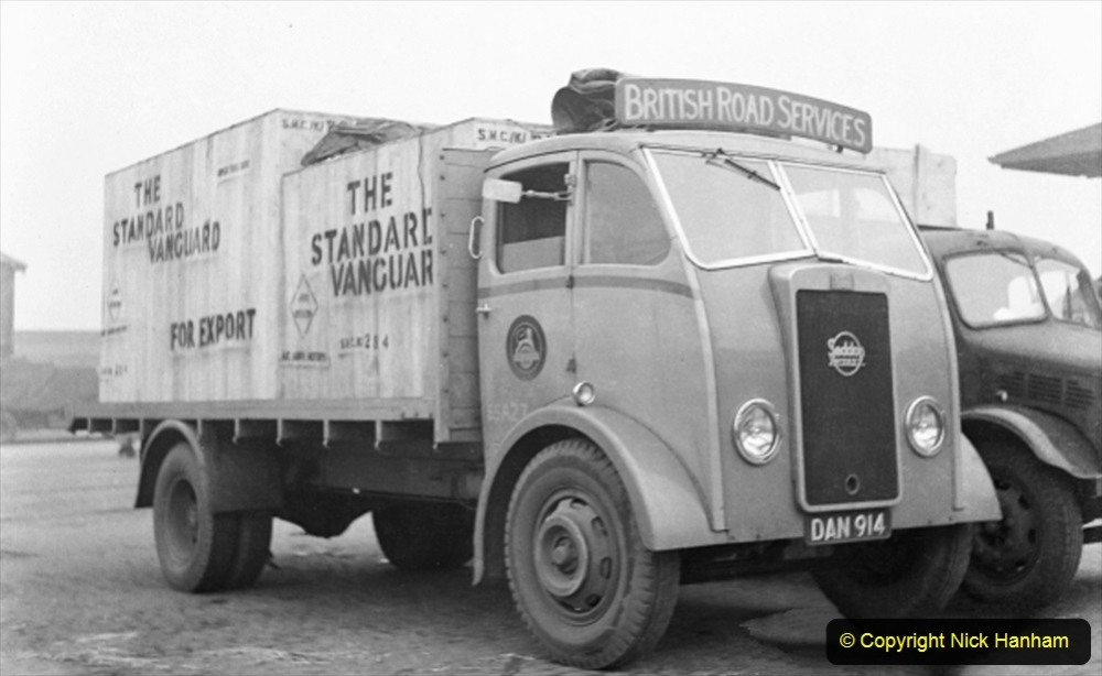 BRS vehicles 1950s and 1960s. (188) 188