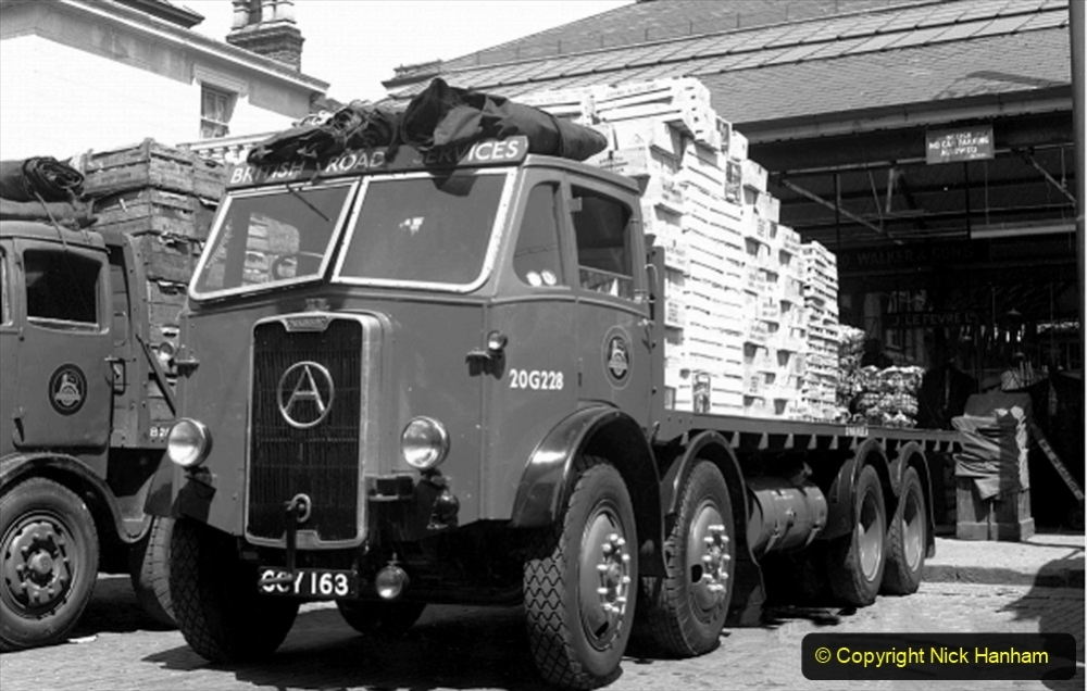 BRS vehicles 1950s and 1960s. (191) 191