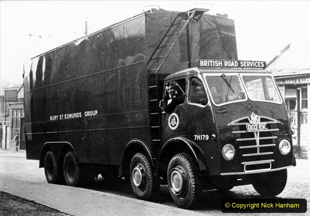 BRS vehicles 1950s and 1960s. (198) 198