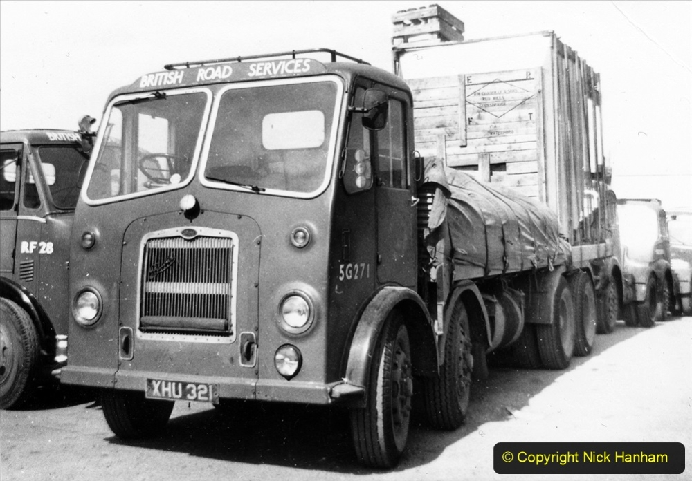 BRS vehicles 1950s and 1960s. (202) 202