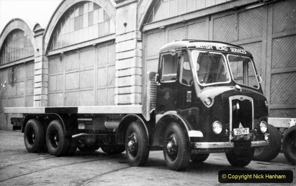 BRS vehicles 1950s and 1960s. (205) 205