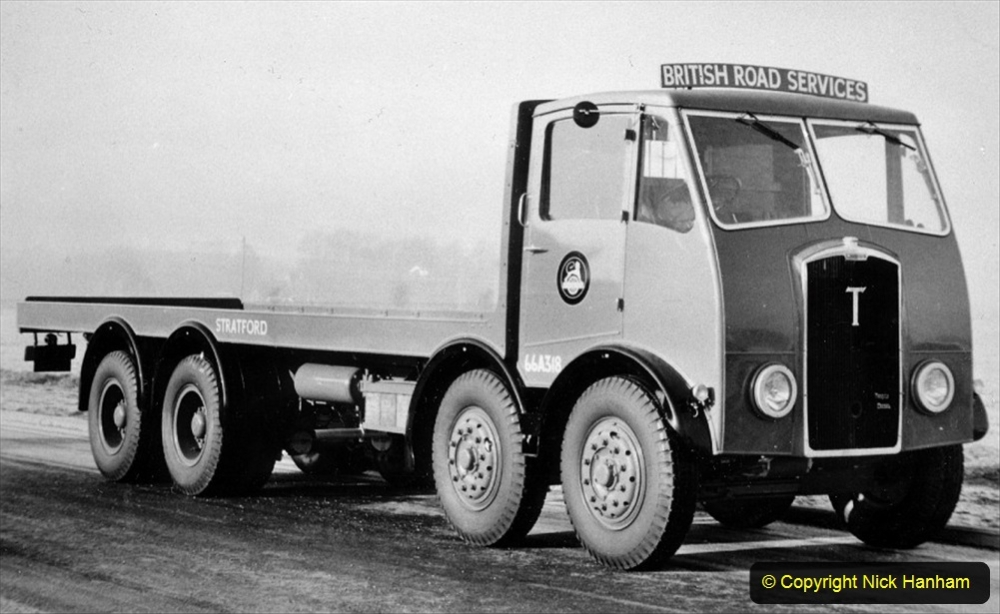 BRS vehicles 1950s and 1960s. (209) 209