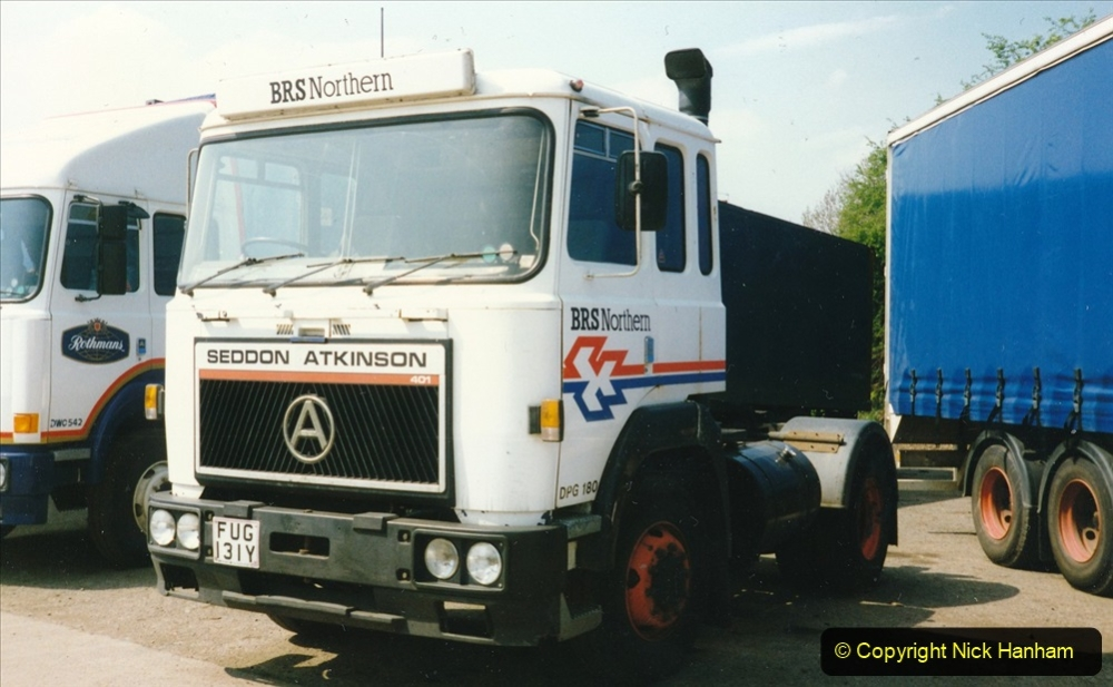 BRS vehicles 1950s and 1960s. (210) 210