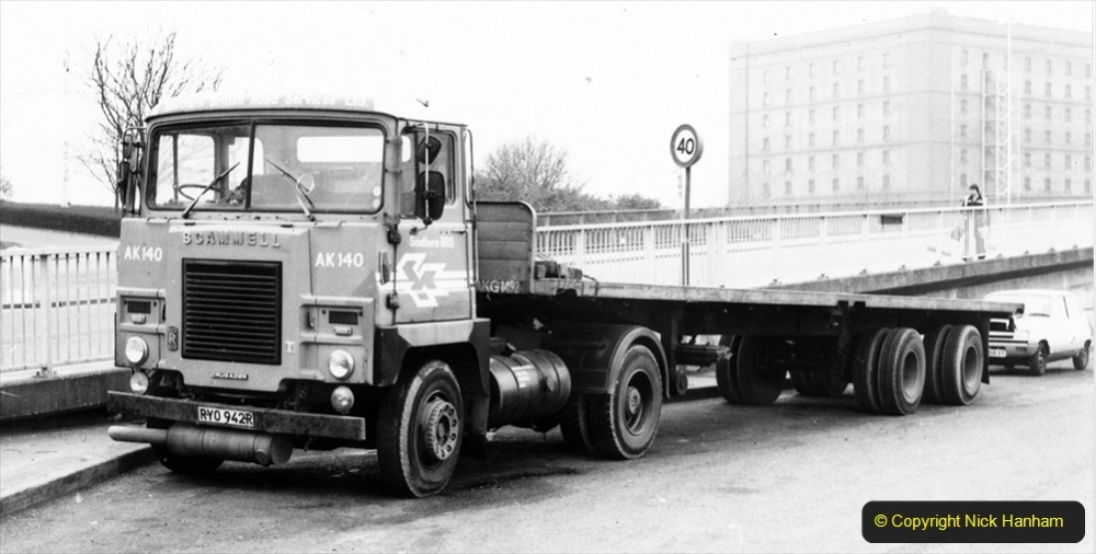 BRS vehicles 1950s and 1960s. (211) 211