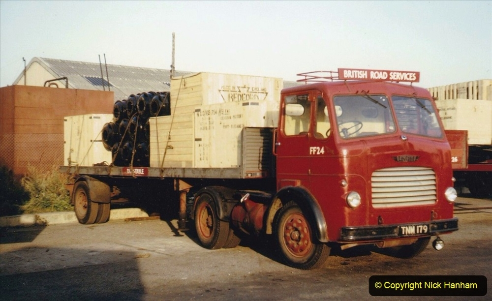 BRS vehicles 1950s and 1960s. (213) 213