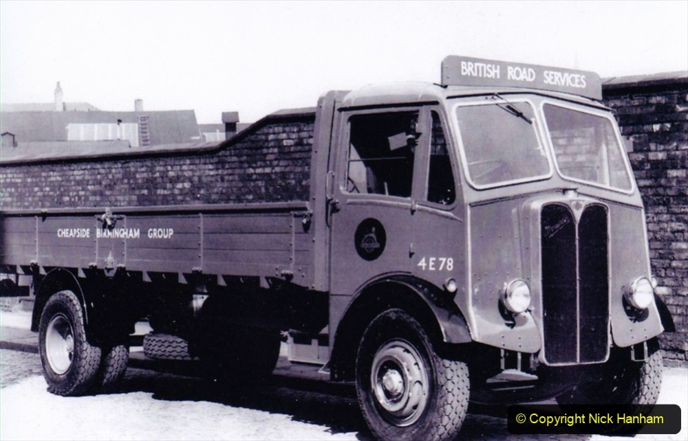 BRS vehicles 1950s and 1960s. (214) 214
