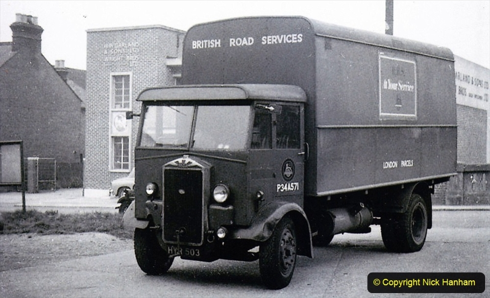 BRS vehicles 1950s and 1960s. (215) 215