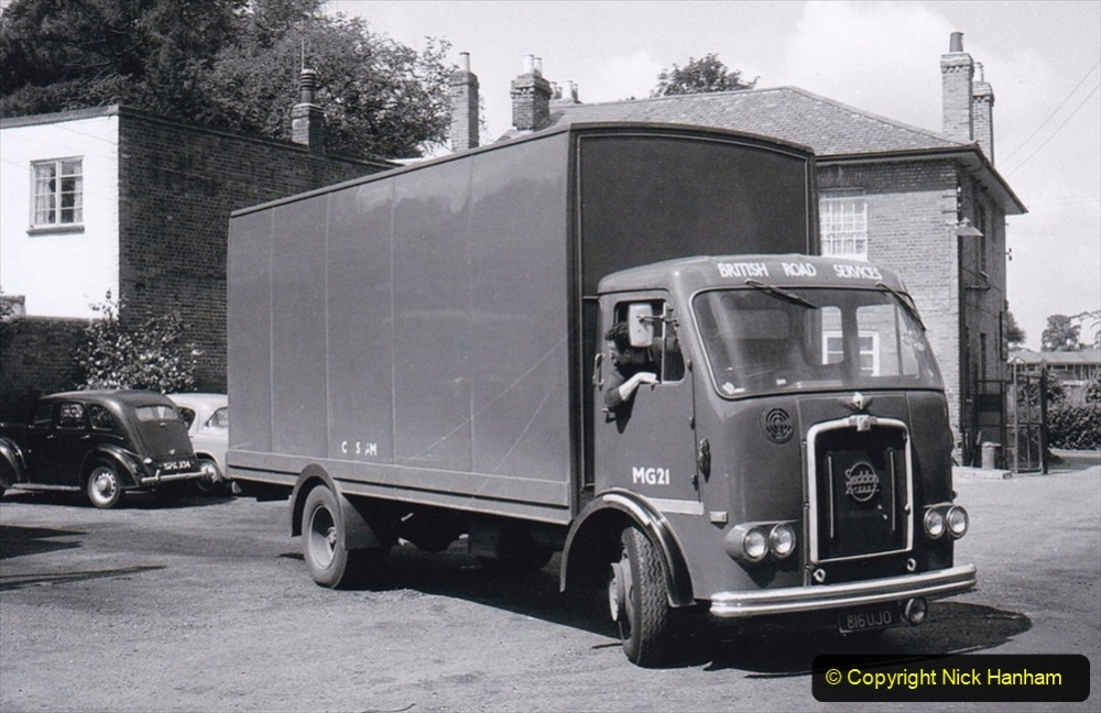 BRS vehicles 1950s and 1960s. (218) 218