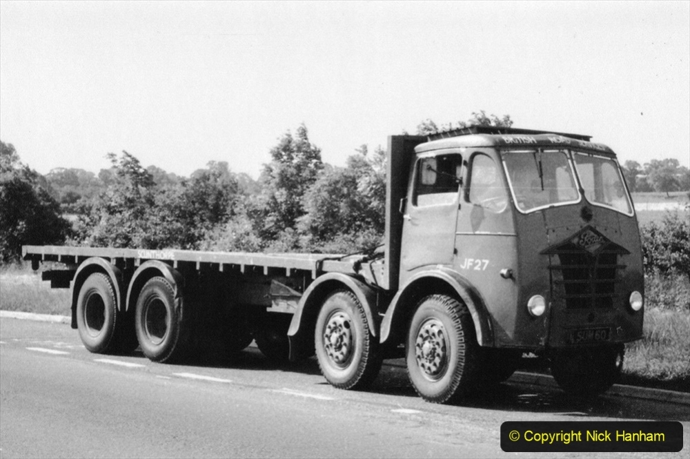 BRS vehicles 1950s and 1960s. (219) 219