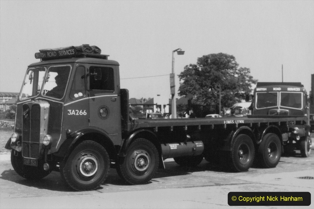 BRS vehicles 1950s and 1960s. (220) 220
