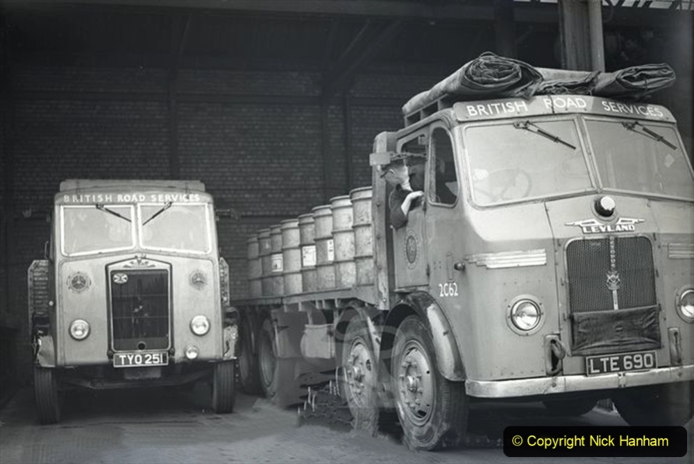 BRS vehicles 1950s and 1960s. (225) 225
