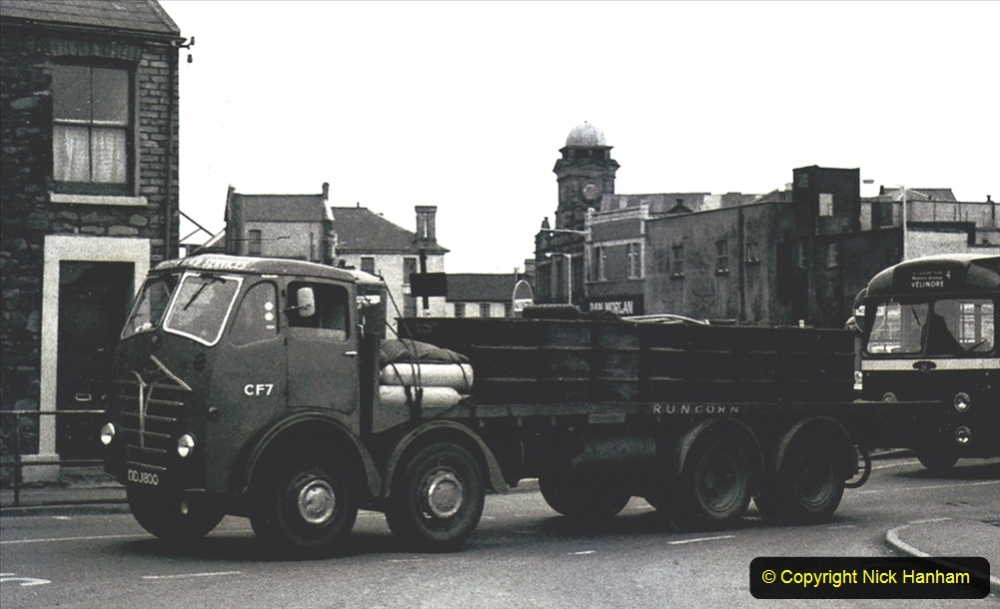 BRS vehicles 1950s and 1960s. (228) 228