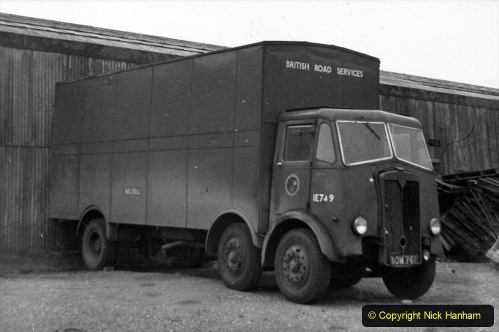BRS Maudslay Lorries 1950s & 1960s. (7) 001