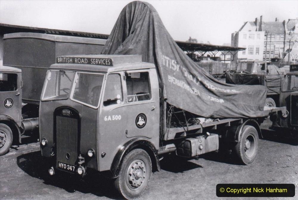 BRS Maudslay Lorries 1950s & 1960s. (21) 001