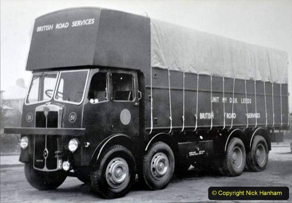 BRS Maudslay Lorries 1950s & 1960s. (24) 001