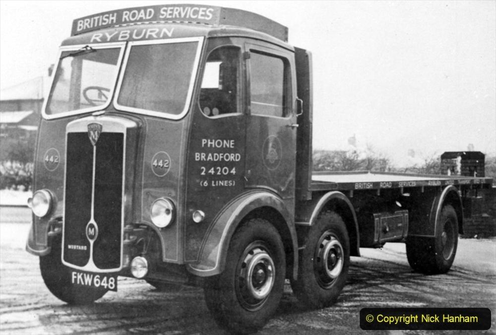 BRS Maudslay Lorries 1950s & 1960s. (29) 001