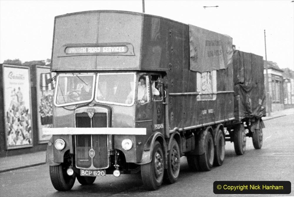 BRS Maudslay Lorries 1950s & 1960s. (31) 001