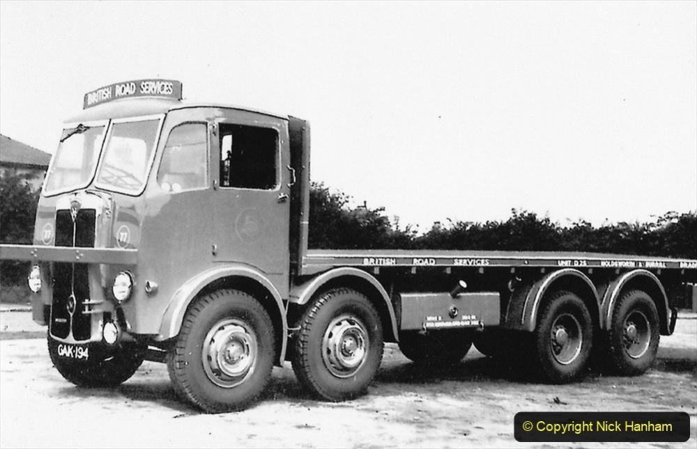 BRS Maudslay Lorries 1950s & 1960s. (32) 001