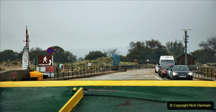 2019-10-31 Sandbanks to Studland ferry returns after a 3 month absence due to major repairs on engines. (6) Sandbanks to Studland. 006