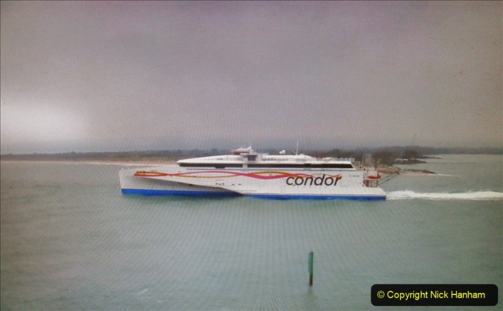2019-10-31 Sandbanks to Studland ferry returns after a 3 month absence due to major repairs on engines. (36) Live streaming webcam at Sandbanks near the ferry loading point. 036