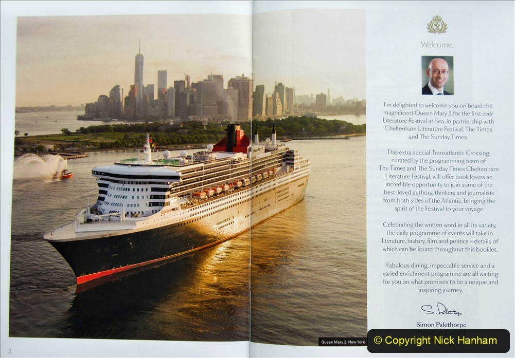 2019_11_03 to 17 Cunard's Queen Mary New York to Southampton @ first Literature Festival at Sea.  (2) 002