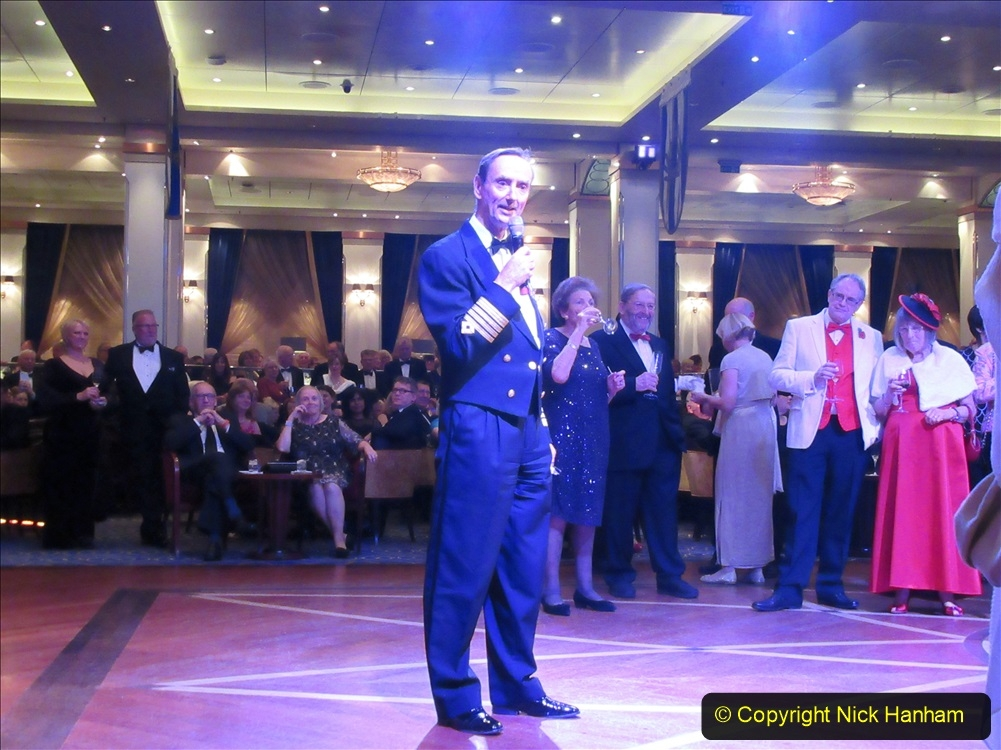 2019_11_03 to 17 Cunard's Queen Mary New York to Southampton @ first Literature Festival at Sea.  (15) Formal Evening with our captain. 015