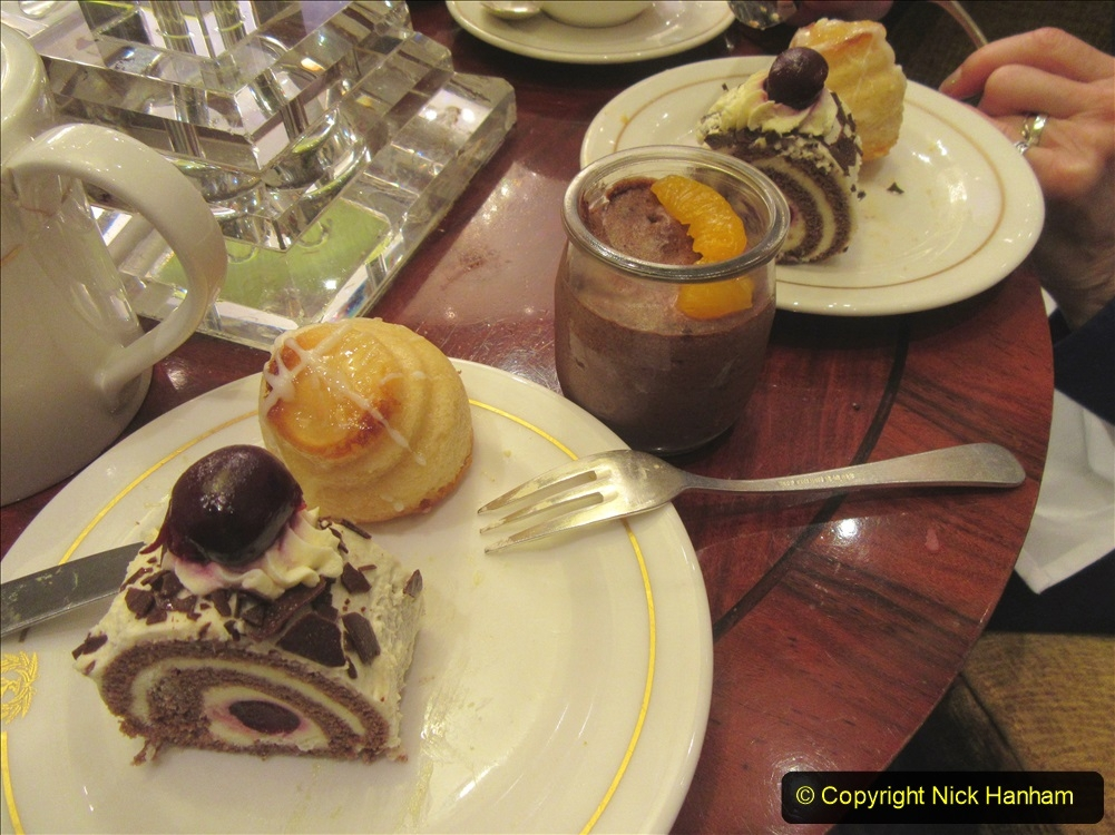 2019_11_03 to 17 Cunard's Queen Mary New York to Southampton @ first Literature Festival at Sea.  (84) White Star Afternoon Tea. 084