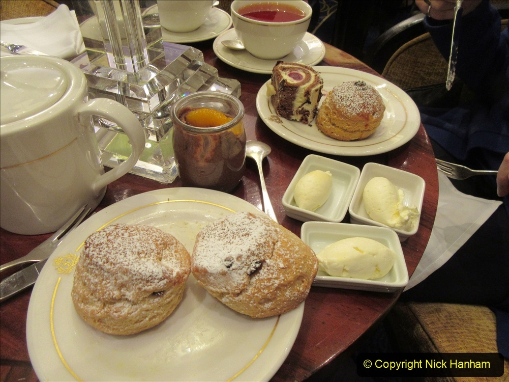 2019_11_03 to 17 Cunard's Queen Mary New York to Southampton @ first Literature Festival at Sea.  (85) White Star Afternoon Tea. 085