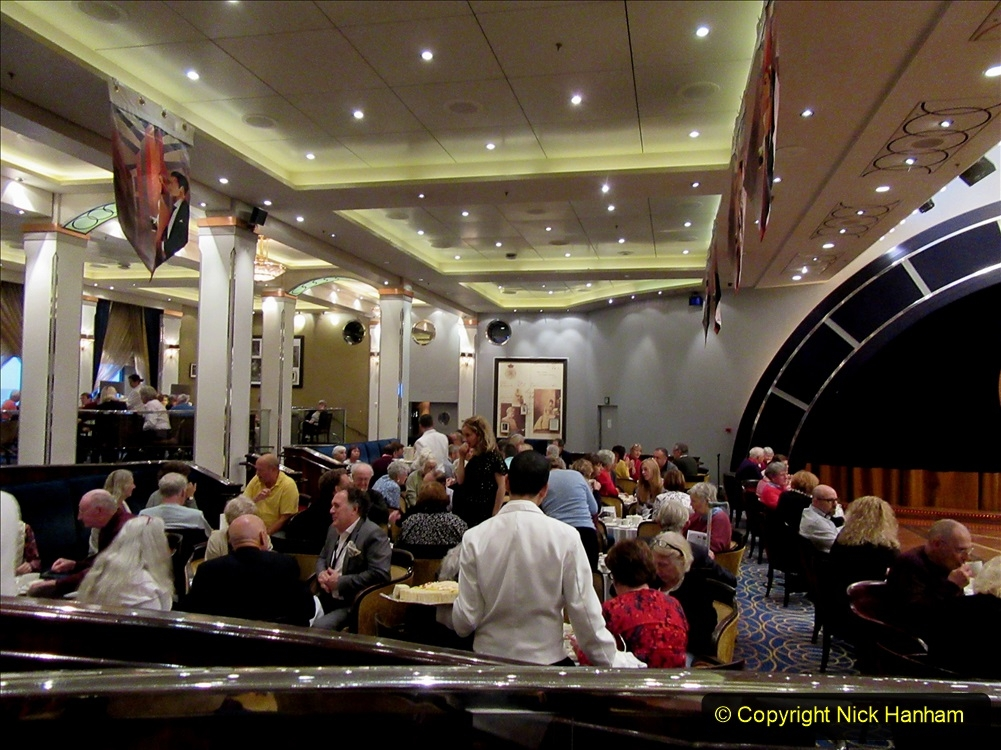 2019_11_03 to 17 Cunard's Queen Mary New York to Southampton @ first Literature Festival at Sea.  (88) White Star Afternoon Tea. 088