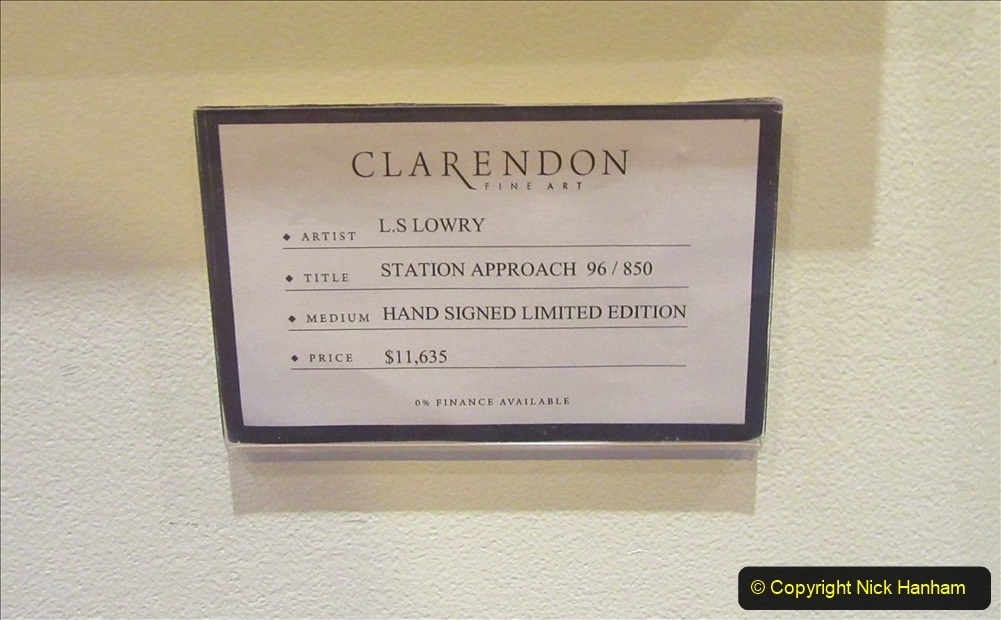 2019_11_03 to 17 Cunard's Queen Mary New York to Southampton @ first Literature Festival at Sea.  (96) The Clarenden Art Gallery. 096