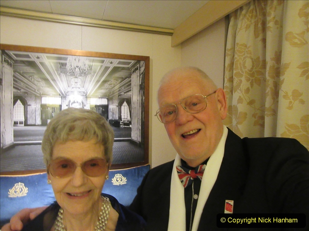 2019_11_03 to 17 Cunard's Queen Mary New York to Southampton @ first Literature Festival at Sea.  (112) Our last formal evening. 112