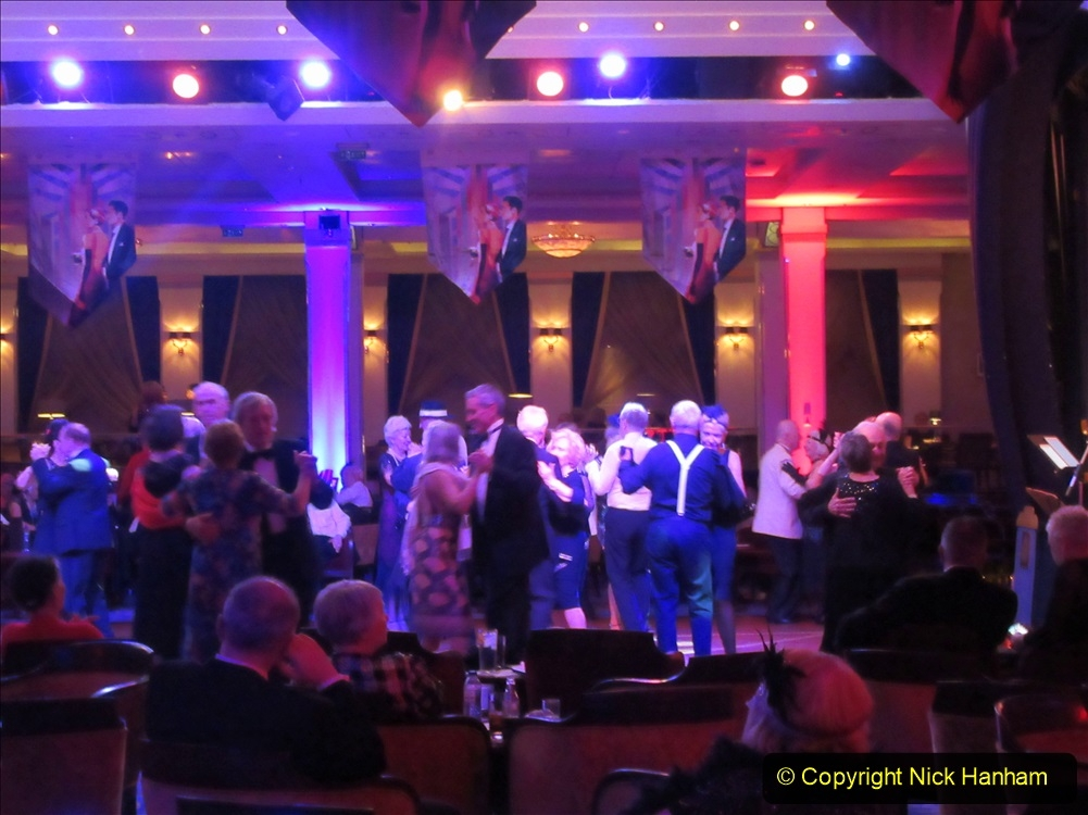 2019_11_03 to 17 Cunard's Queen Mary New York to Southampton @ first Literature Festival at Sea.  (133) Dance time. 133