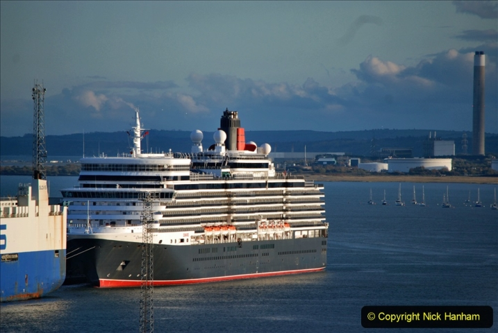 2019-11-03 to 17 Cunard's Queen Mary Southampton to New York. (127) Southampton. 127